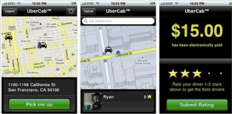 Вторая версия Uber