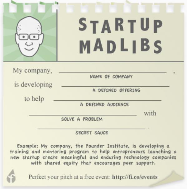 Простой шаблон от Адео Ресси, который помогает основателям стартапов перевести свою идею в предложение для инвесторов
