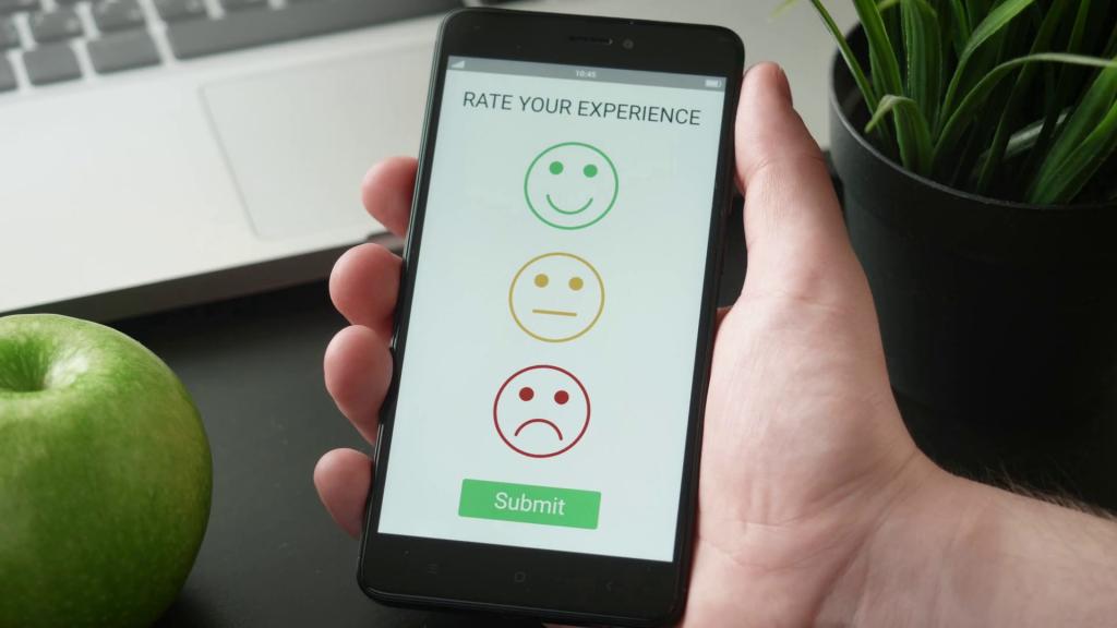 Смартфон предлагает поделиться своим опытом