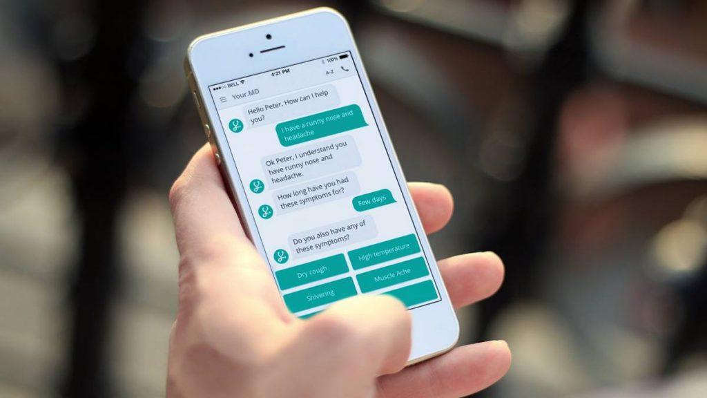 Использование чат-бота в мобильном приложении, дабы существенно улучшить его функциональность