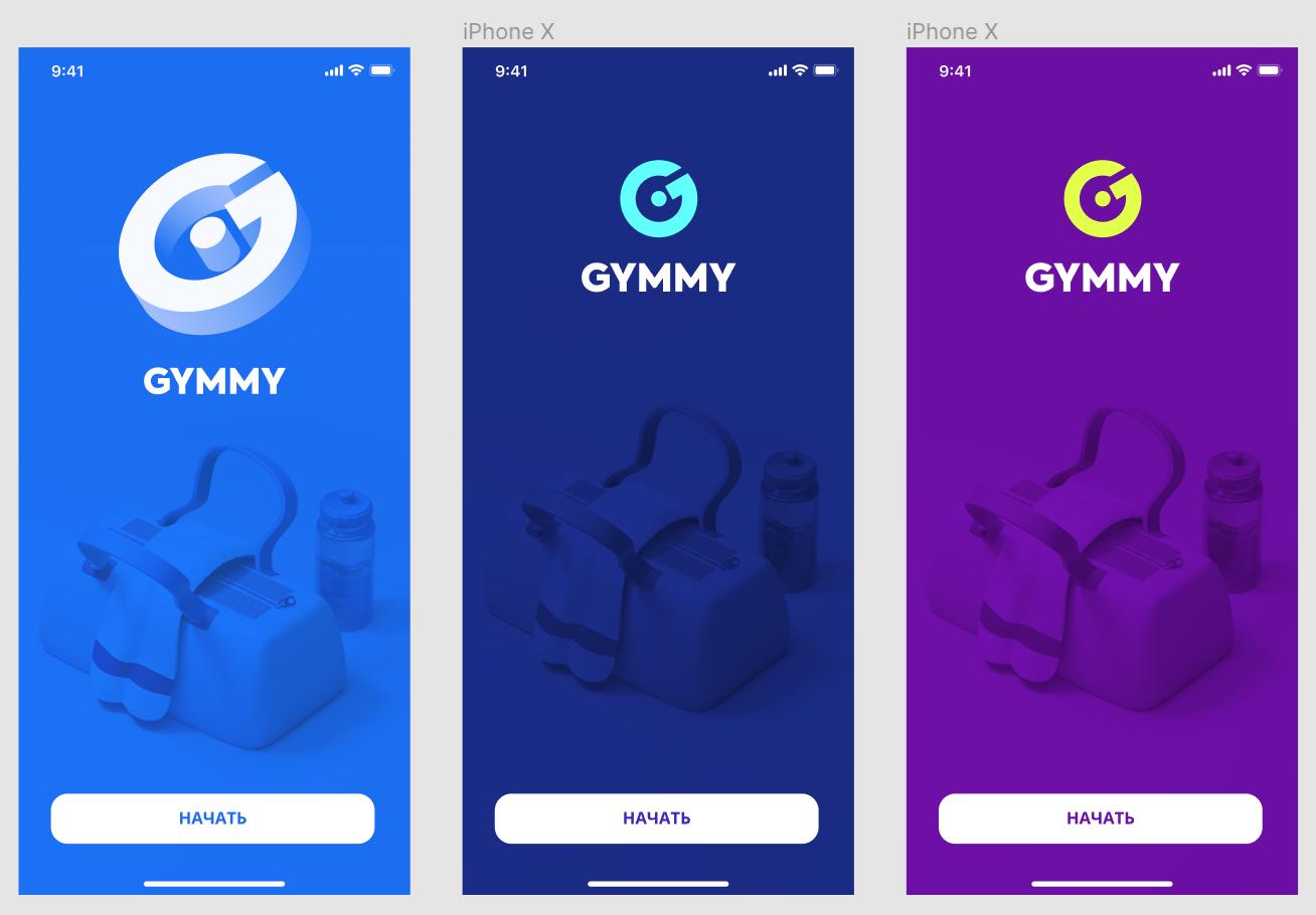 Некоторые мысли по цветам и логотипу Gymmy